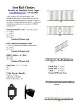 Fortress Railing Info
