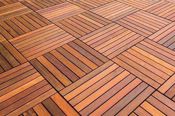 Ipe Tiles