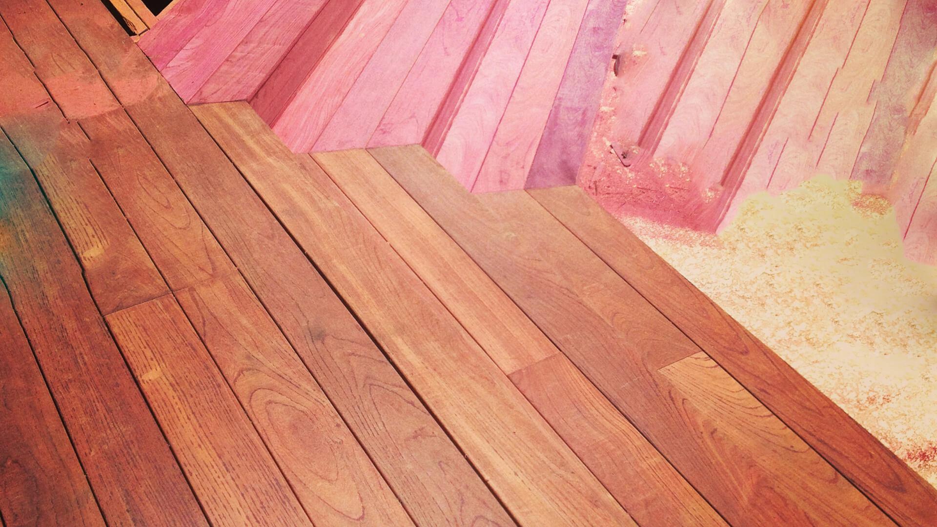 Purpleheart Decking Deck