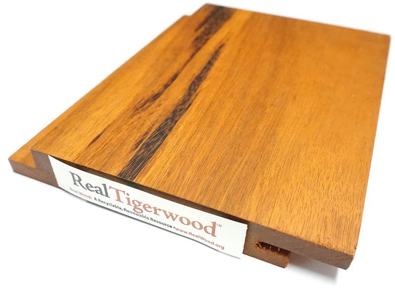Tigerwood Siding