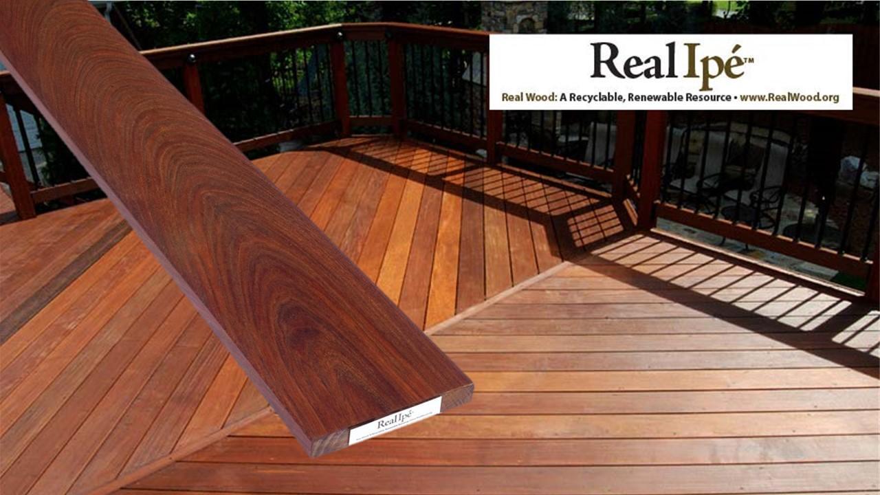Ipe Decking Boards